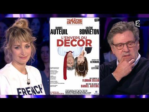 Pauline Lefèvre et Daniel Auteuil - On n'est pas couché 9 janvier 2016 #ONPC