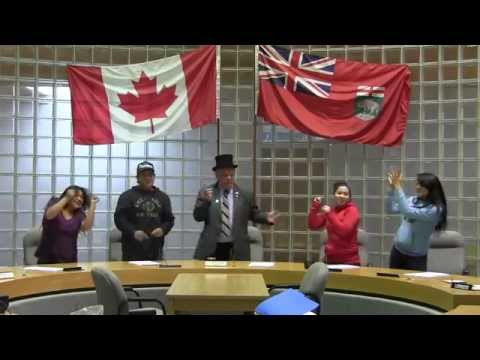 Pharrell Williams-HAPPY (The Pas and Opaskwayak Cree Nation are)