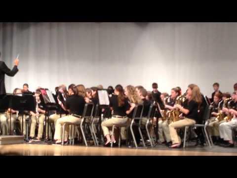 "Pocahontas Middle School 6th Grade Band ""American Spirit March"" John O'reilly"
