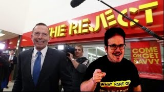 Tony Abbott is a Reject and the NSA is still spying