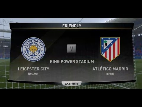 Leicester City v Atletico Madrid Champions League Quarterfinals First Leg FULL MATCH (PS4/XBox One)