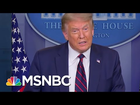 President Trump Gave His First COVID-19 Briefing In Months. Here's How It Went. | MSNBC