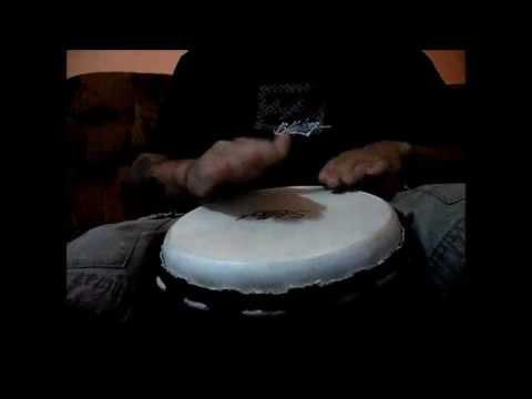 playing my djembe along manu chao - mr. bobby
