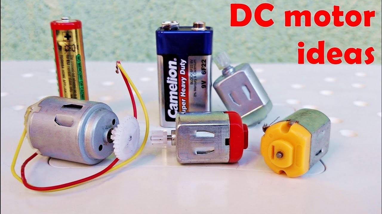 4 Awesome ideas with DC motor - DIY 4 useful machine with dc motor ...