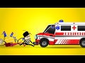Ambulance Car Garage | Car Wash Videos | Street Vehicles | Ambulance Cars Cartoon for Kids