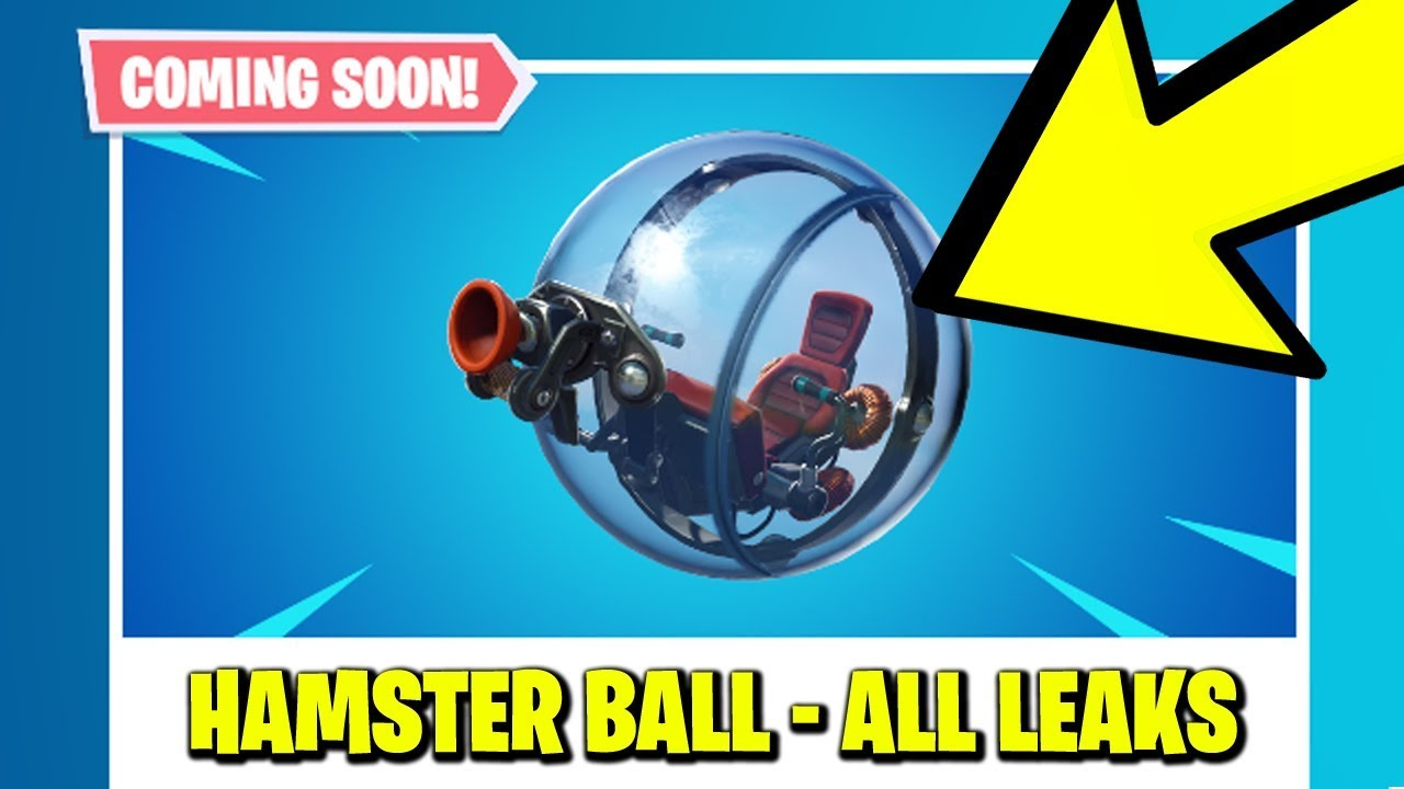 New Fortnite Update The Baller Hamster Ball Vehicle Official