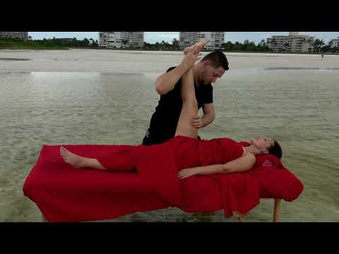 Massage Therapy on Marco Island Beach