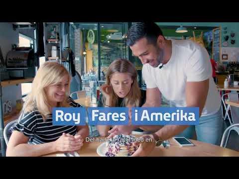 Roy Fares i Amerika och Dessertmästarna ikväll från 20.00 på Kanal 5!
