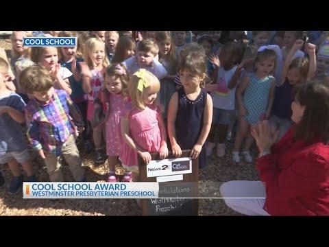 Westminster Presbyterian Preschool receives the News 2 Cool School award