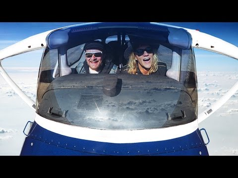 First Time Flying a Plane! - What Could Go Wrong!?