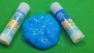 Glue Stick Slime aฑd Salt Simple ! How To Make Slime Glue Stick and Salt