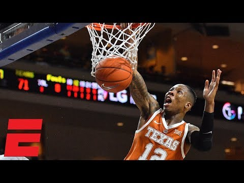 Texas beats North Carolina behind Kerwin Roach II's 32 points | College Basketball Highlights