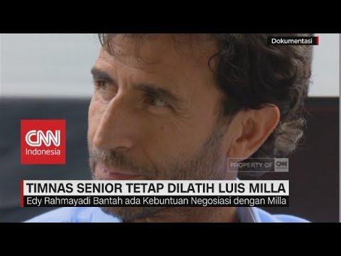 Ketua PSSI Pastikan Luis Milla Masih Latih Timnas Indonesia Senior
