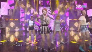 원더걸스 [Like This] @SBS Inkigayo 인기가요 20120617