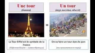 Уроки французского #77: Учим французские слова оригинальный способом! Les homonyms français