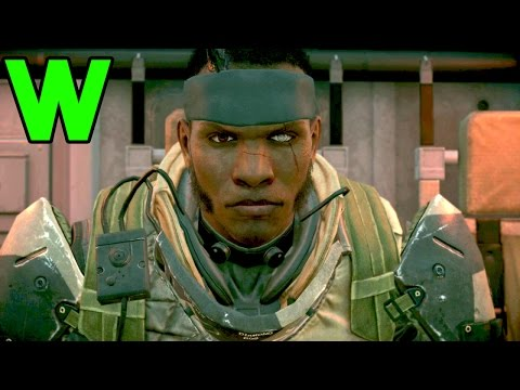 Successful Infiltration Against OWATAWWW - MGSV Phantom Pain Gameplay FOB Infiltration