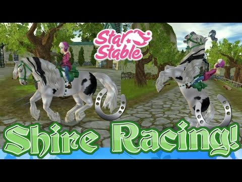 Star Stable Online: Shire Racing!