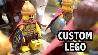 Alexander the Great Enters Babylon Scene in LEGO