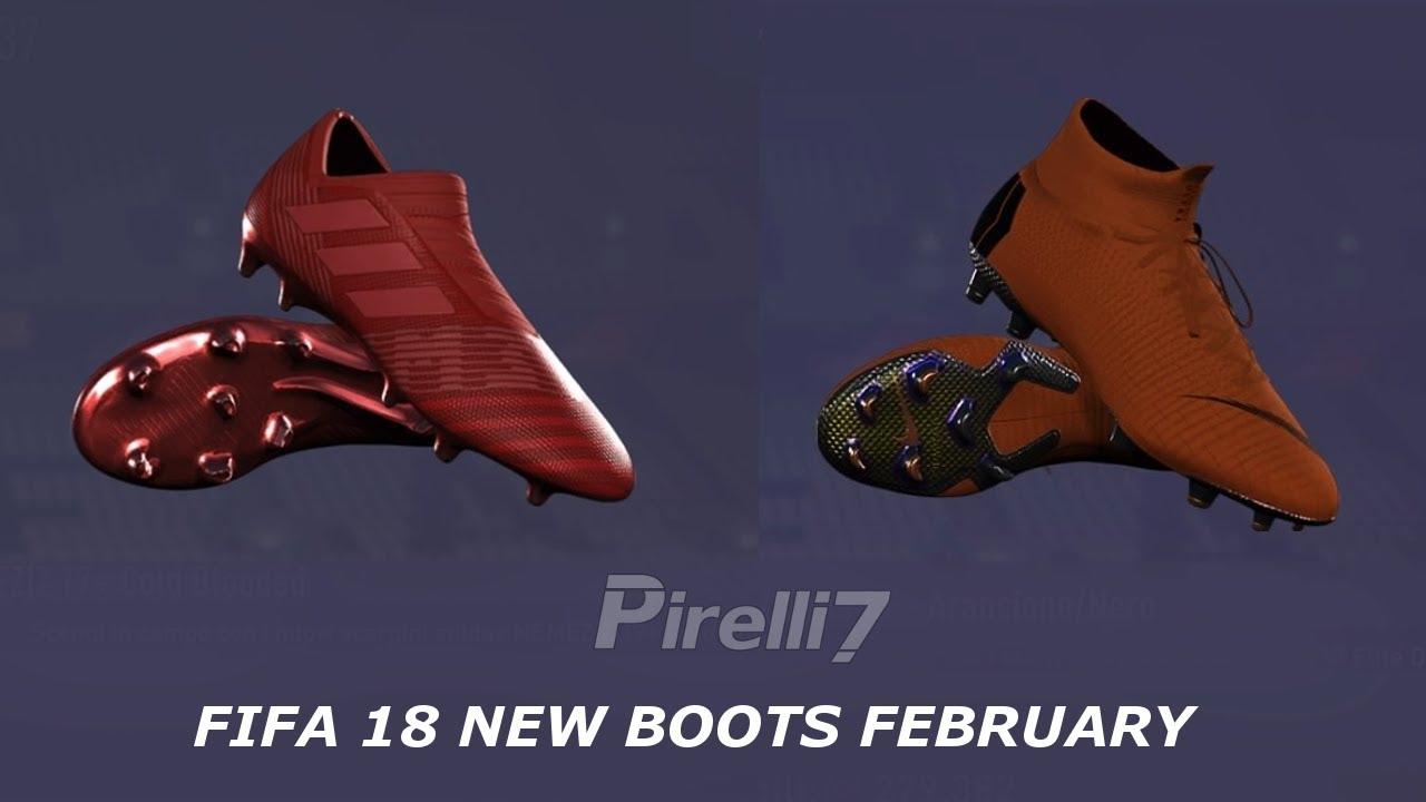 a3619ecfd FIFA 18 New Boots  Unlock Hidden Boots 2018 ( Superfly 6   Vapor 12    Nemeziz 17 )