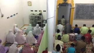 SHALAT NISFU SYABAN DI MUSHOLA DARUL HASANAH (timelapse)