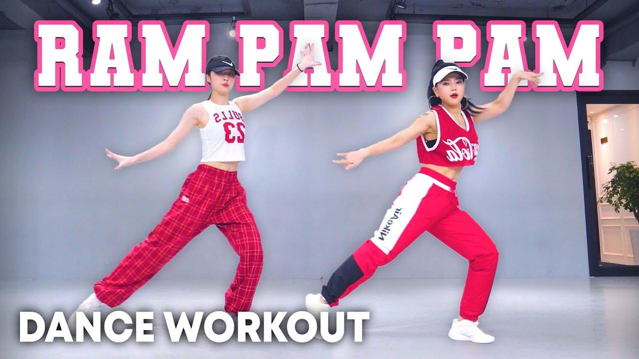[Dance Workout] Natti Natasha x Becky G - Ram Pam Pam | MYLEE Cardio Dance Workout, Dance Fitness