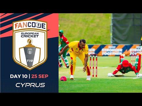 🔴 FanCode European Cricket T10 Cyprus,  Limassol | Day 10 T10 Live Cricket