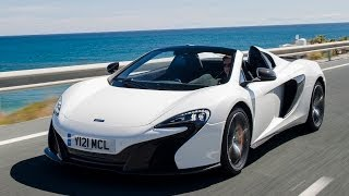 "McLaren 650S Spider: ""So much better than the 12C it defies belief"""
