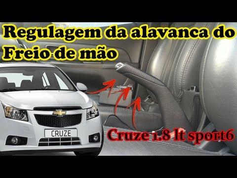 Regulagem da alavanca do freio de mão GM Cruze