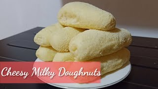 CHEESY MILKY DOUGHNUTS | BAKED DOUGHNUTS