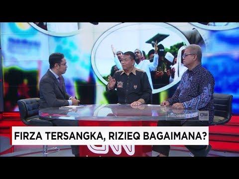 Dialog Seru! Firza Husein Tersangka, Rizieq Shihab Bagaimana?