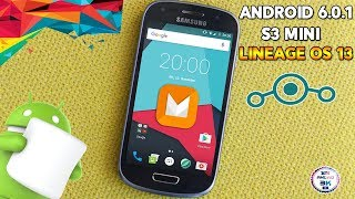 ▶ Actualiza El Galaxy S3 Mini a Android Marshamallow 6.0 Lineage os 13◀ Andro3000