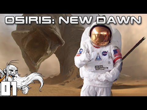 "Osiris: New Dawn Gameplay - ""HOLY CRAP A GIANT SANDWORM!!!"" Ep01 - Let's Play Walkthrough"