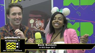 Beck Bennett Finds The Perfect Duck Pun To Describe Ducktales at D23