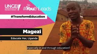 Transform Education - Megazi, Educate Her