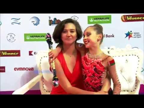 Junior national team of Belarus / Julia Evchik ,Alina Gornosko, Julia Isachenko