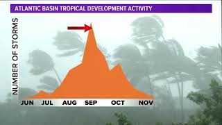In the tropics: Tropical Depression 22 could soon be Beta; Tropical Storm Wilfred spins in Atlantic