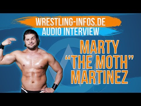 """W-I.de Exklusivinterview mit """"Lucha Underground""""-Star Martin Casaus (aka Marty """"The Moth"""" Martinez)"""