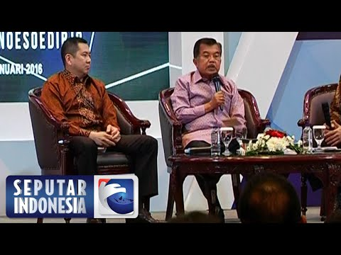 Wapres jusuf Kalla Hadiri News Forum MNC Group [Sindo] [21 Jan 2016]