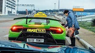 Фото с обложки Таксист На Lamborghini Huracan Performante