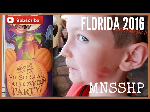 SURPRISE DISNEY VACATION 2016 - DAY 6 - HALLOWEEN AT ALL STAR SPORTS & MNSSHP (2/3)