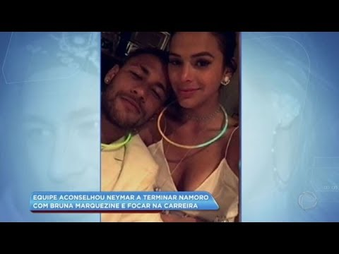 Hora da Venenosa: equipe aconselhou Neymar a terminar namoro com Bruna Marquezine