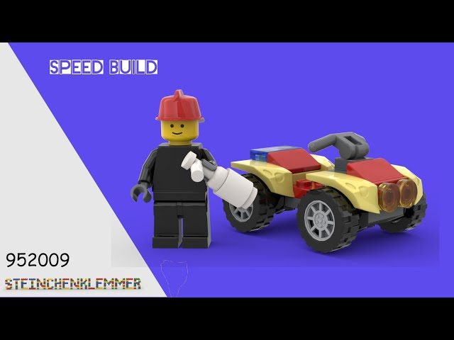 952009 Clemmons With Fire Quad | Speed Build