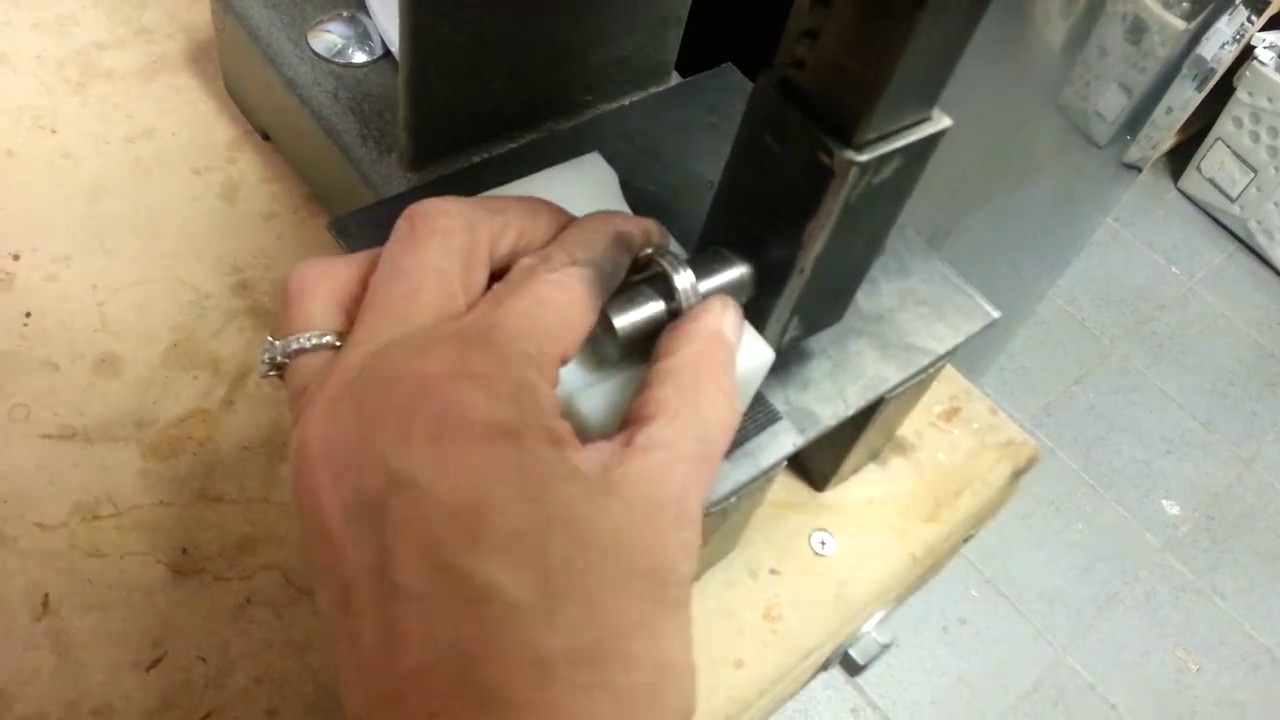 Making A Spoon Ring On The Flatwearable Silverware Bending