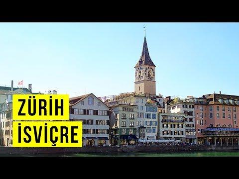 İsviçre Zürih'te Gezilecek Yerler - Gezimanya Zürih Gezisi