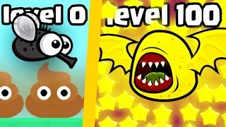 HOW STRONG IS THE HIGHEST LEVEL IN FLYORDIE.IO? (NEW VERSION MOPE.IO?) l Flyordie.io New .IO Games