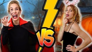Kind vs Teenager an Halloween 🎃👻 STYLING PARTY PRANKS