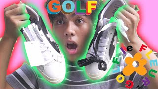 GOLF le FLEUR* GOLF WANG | Industrial Pack (Barely Blue / Black - Egret) UNBOXING, REVIEW AND TRY ON