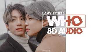 Lauv Who Ft Bts Jimin Jungkook 8d Use Headphones