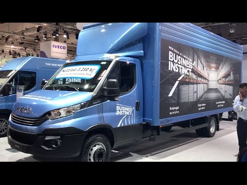 Iveco Daily 2017 In detail review walkaround Exterior - YouTube