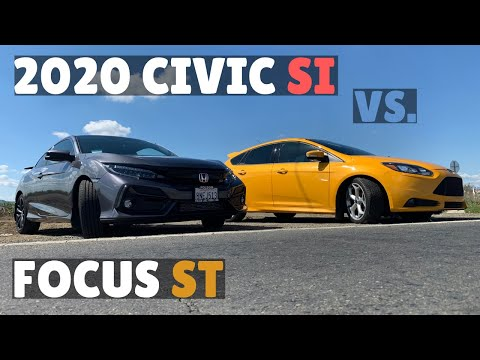 tuned-2020-civic-si-vs.-ford-focus-st